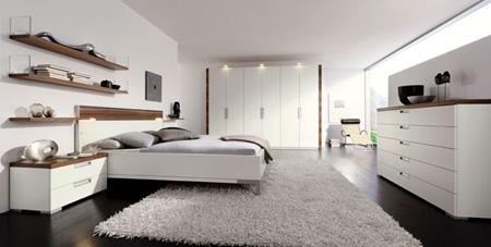 Phòng ngủ theo phong cách hiện đại.