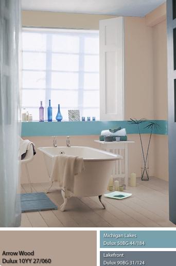 Không gian Kim cũng hợp với phòng tắm, tạo cảm giác nhẹ nhõm thư thư thái.