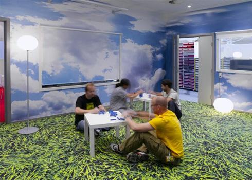 Văn phòng Lego.