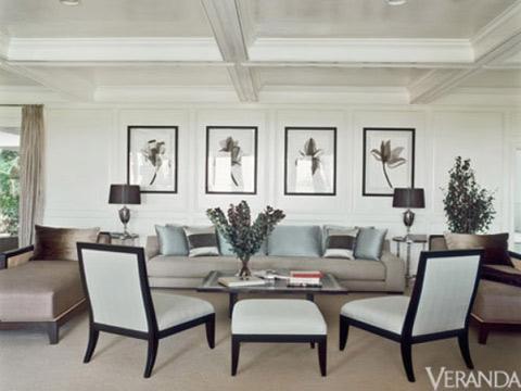 Jen muốn căn nhà có những nét hiện đại, nhưng phải được sắp xếp một cách tinh tế và thanh lịch