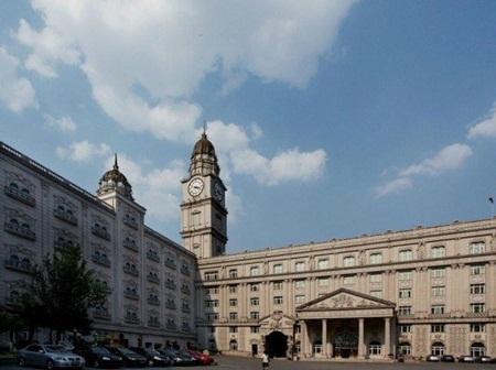 Kiến trúc tòa nhà mang đậm phong cách châu Âu