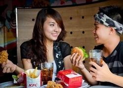 Gà giòn lá chanh - món mới ở KFC