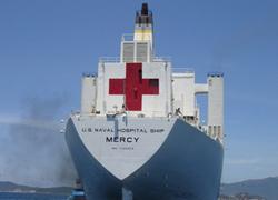 Tàu bệnh viện của Hải quân Mỹ trở lại Việt Nam