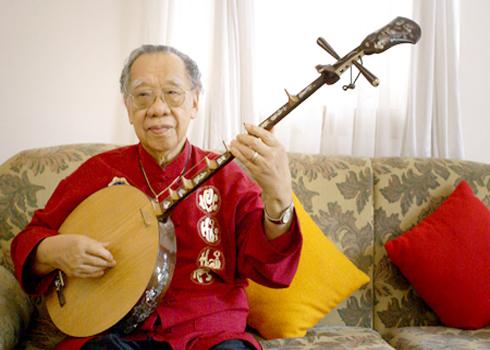 Giáo sư Trần Văn Khê. Ảnh: HQCBM.