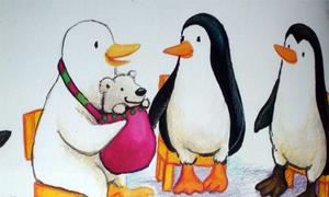 'Bi nô và chú gấu bông'