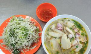 Vị ngọt bún cá thu Đà Nẵng