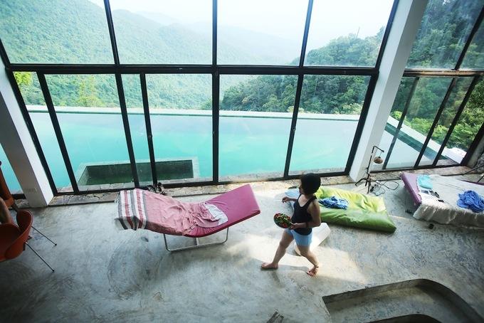 Ngôi nhà trên sườn núi của một nhà văn
