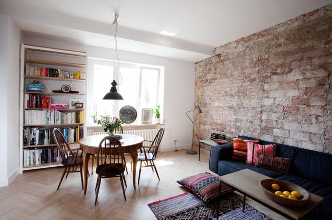 Bố trí lại nhà chung cư 56 m2