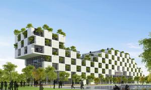 Kiến trúc độc đáo của tòa nhà ĐH FPT