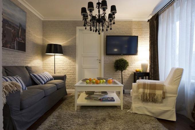 Căn hộ 56 m2 có hai phòng ngủ