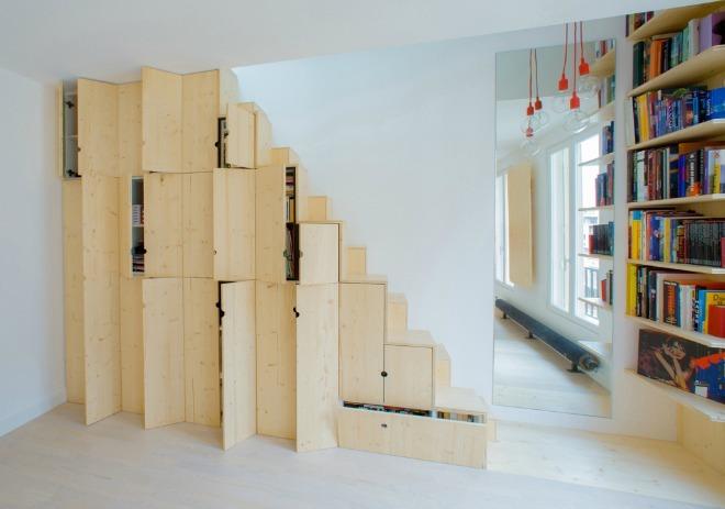 Biến căn hộ 32 m2 thành nơi ở rộng rãi