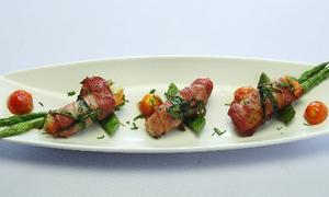 Thịt xông khói cuộn rau củ đơn giản mà ngon miệng