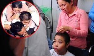 Cậu bé bại liệt vì ung thư ước mơ được một lần cõng mẹ