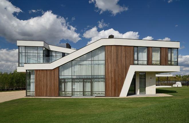 Biệt thự hiện đại với những đường nét mềm mại