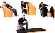 Ghế sofa kiêm giường tiết kiệm diện tích
