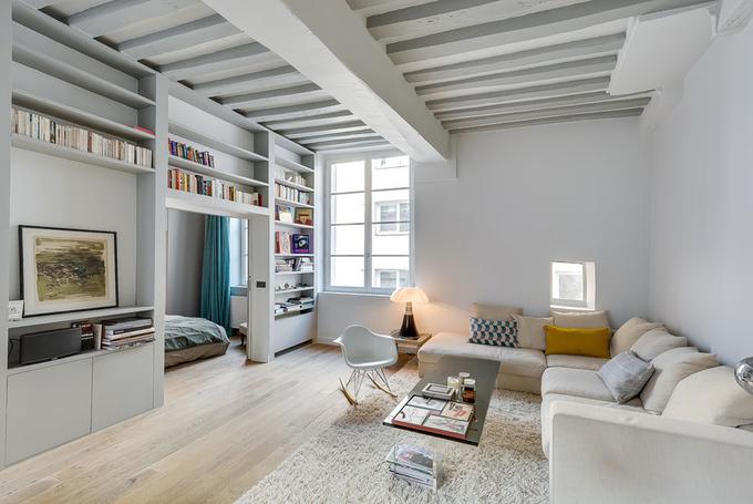 Không gian thanh lịch trong căn hộ 50 m2