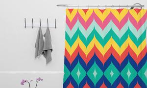 Các kiểu rèm làm phòng tắm khác hẳn