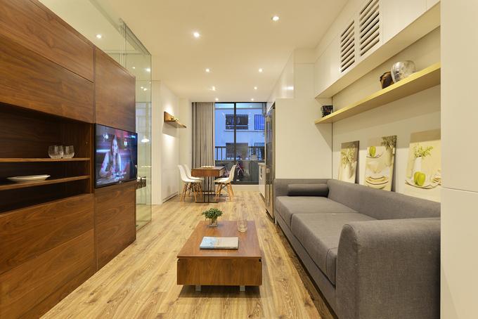 Căn hộ 68 m2 cho gia đình 6 người