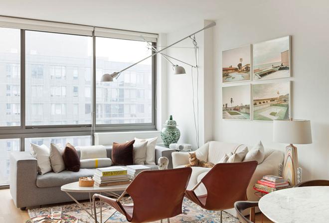 Căn hộ 60 m2 tươi vui nhờ đồ trang trí ấn tượng
