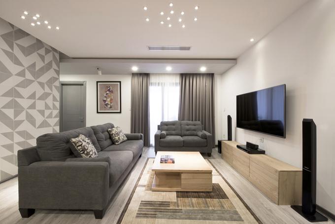 Cải tạo căn hộ 107 m2 cho gia đình trẻ