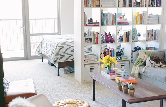 Thiết kế căn hộ một phòng vẫn đẹp