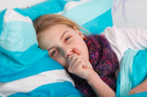 Ho khi ngủ có thể là triệu chứng của nhiều bệnh.Ảnh: Biorevive.