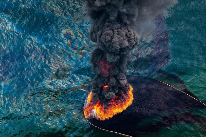 Hình ảnh gây sốc về môi trường bị tàn phá trên hành tinh