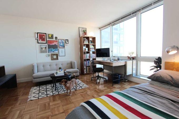 Căn hộ 37 m2 cho hai người bạn yêu nghệ thuật