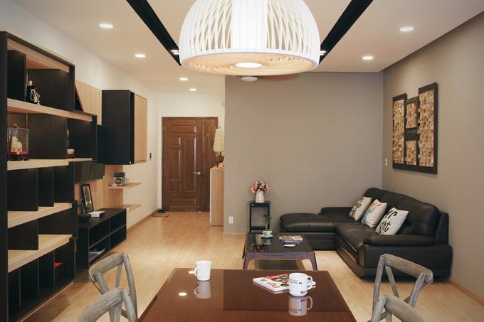 Nơi nghỉ ngơi tiện nghi trong căn hộ 120 m2