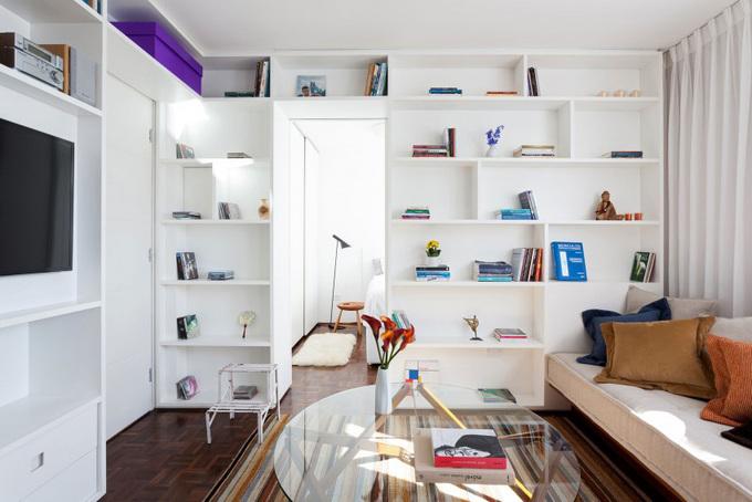 Căn hộ 30 m2 đủ tiện nghi cho cặp vợ chồng trẻ