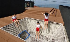 Ngôi trường mà trẻ có thể chơi ở mọi nơi
