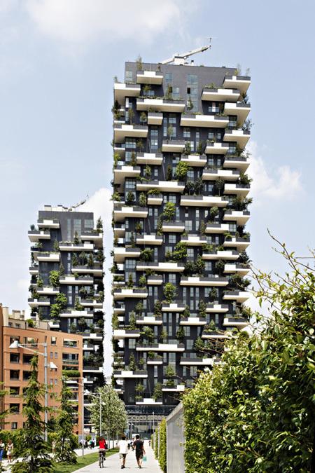 Chung cư đẹp nhất thế giới phủ kín cây xanh