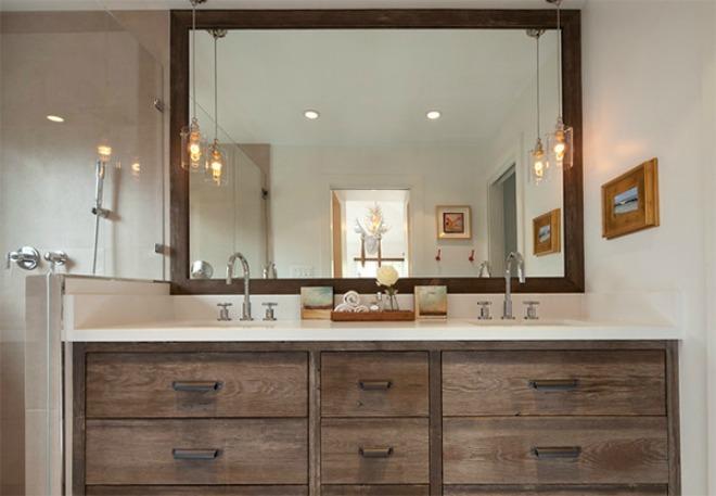 Sử dụng gỗ cho phòng tắm thu hút hơn