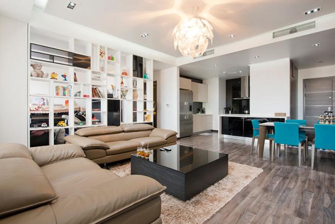 Căn hộ 125 m2 của chủ nhà chấp nhận sửa lại lần hai