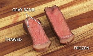 Tại sao không nên rã đông thịt cho món bò bít tết