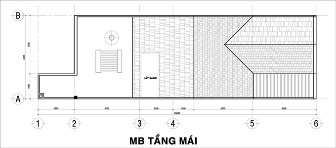 Nhà 3 tầng với phòng ngủ nào cũng có WC