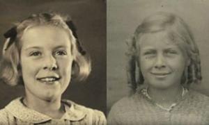 Chị em sinh đôi đoàn tụ sau 78 năm
