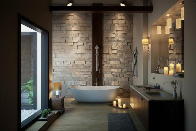 Những phòng tắm đánh tan mệt mỏi của bạn