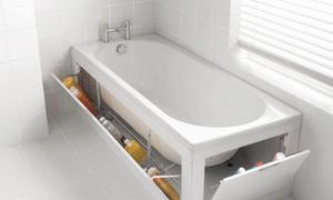 Các ý tưởng cất đồ thông minh cho phòng tắm siêu nhỏ