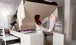 Các cách cất quần áo không cần mua tủ đồ