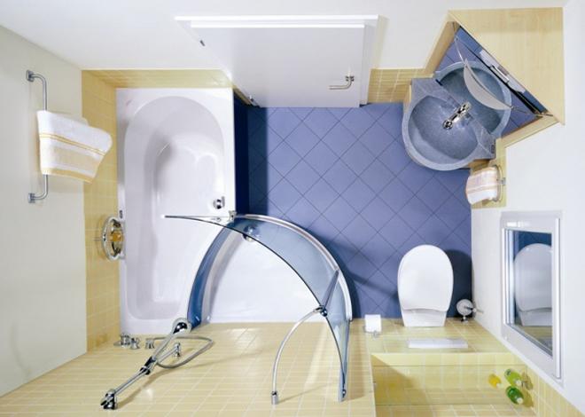 8 mẹo biến phòng tắm nhỏ trở nên thoáng rộng