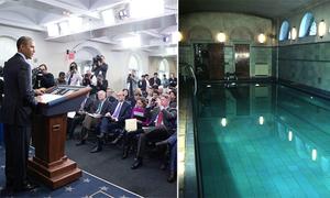 Bể bơi bí ẩn trong nơi ở của Tổng thống Obama