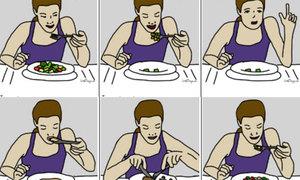 Đoán khả năng thành công của bạn qua cách ăn