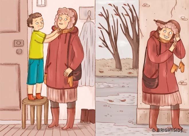 Chuyện gì xảy ra khi bố mẹ hoán đổi vị trí cho con