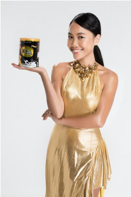 Vì mê chocolate từ bé, nênĐoan Trang thích uống sữa bầu có hương vị này.