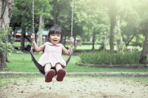 Nhiều em bé thành thị ao ước,nghỉ hè bố mẹ sẽ cho về quê lần nữa.