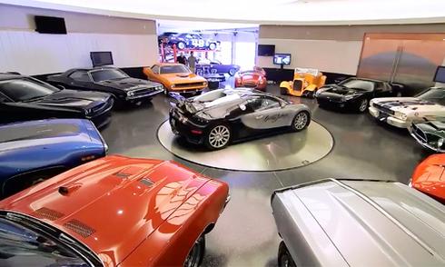 Các garage trong nhà đại gia khiến nhiều người mơ ước