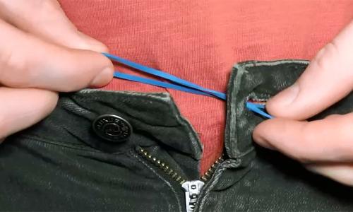 9 cách dùng dây chun giải cứu các tình huống trớ trêu
