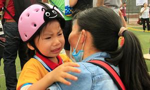 Cuộc đua xe của các em bé Hà Nội miệng còn 'hôi sữa'