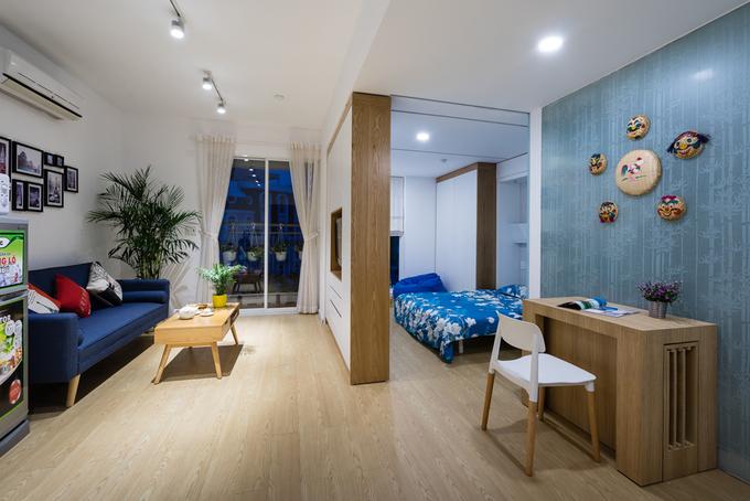 Căn hộ Sài Gòn 40 m2 nhưng đáp ứng mọi nhu cầu